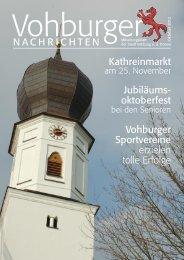 Okt. 2012 - Stadt Vohburg