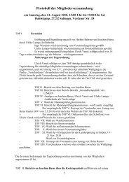 Protokoll der Mitgliederversammlung - DIE LINKE. Kreisverband ...