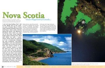 Nova Scotia - X-Ray Magazine