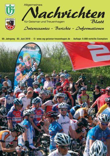 Nachrichtenblatt Juni 2010 - Werbegemeinschaft Geismar ...