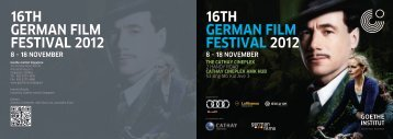 16th german film festival 2012 - Cathay Cineplexes