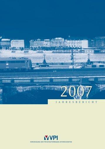 Jahresbericht 2007 - VPI