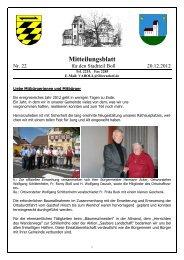 Mitteilungsblatt - Oberndorf am Neckar