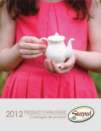 PRODUCT CATALOGUE - Steeped Tea