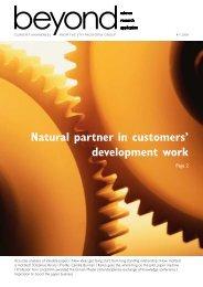 Natural partner in customers' development work - Innventia.com