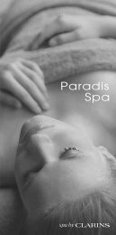 P_Spa Brochure_2012 - Paradis Hotel & Golf Club