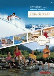 Angebote und Preise Sommer 2012 & Winter 2012/13 www.hotel ...