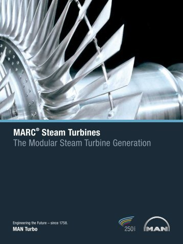 MARC Steam Turbines The Modular Steam Turbine Generation