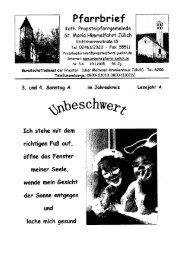 Pfarrbrief vom 23.01.2005 - Propsteipfarrgemeinde St. Mariä ...
