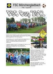 FSC Cup 2012 Bericht - FSC-Mönchengladbach