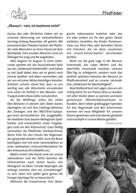 beten lernen Weihnachten 2008 Unser Pfarrbrief - Kath ...
