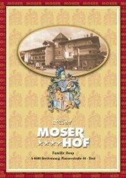 Familie Hosp - Moser Hof