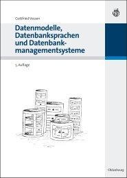 Datenmodelle, Datenbanksprachen und Datenbank - Oldenbourg ...