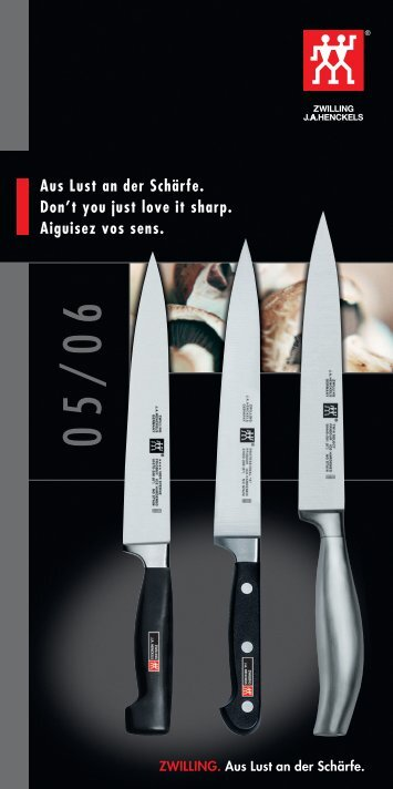 Zwilling Messer 2005 - Zwilling J.A. Henckels AG