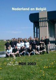 Nederland en België MDE 2003 - Dispuut Watermanagement