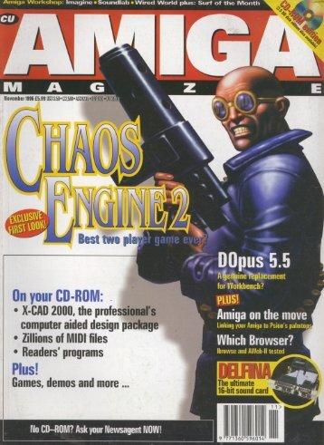 CU Amiga - Commodore Is Awesome