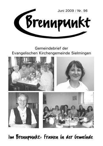 Jetzt ist es soweit, liebe Sielminger - Evangelische ...