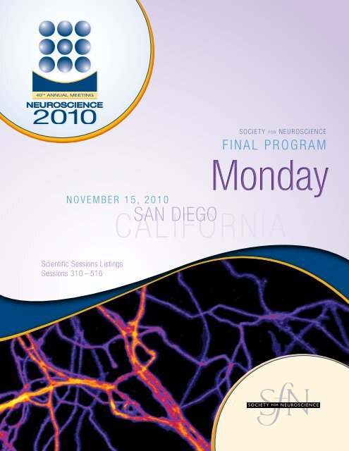 Nanosymposium Society For Neuroscience
