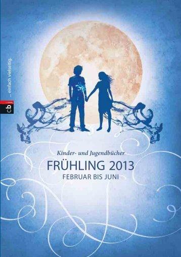 cbj Vorschau Frühjahr 2013 - Verlagsgruppe Random House GmbH