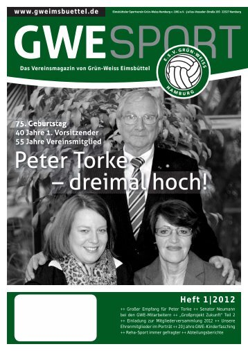 Heft 1|2012 - Sportverein Eimsbüttel Grün-Weiß Hamburg