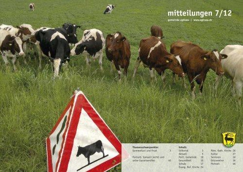 mitteilungen 7/12 - Gemeinde Eglisau