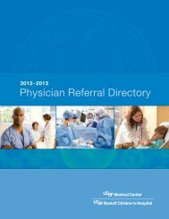 Physician Referral Directory - UCSF Medical Center