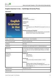 English Grammar in Use – Cambridge University Press