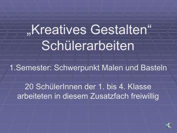 Kreatives Gestalten
