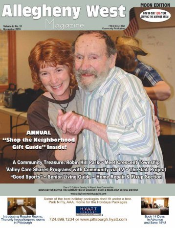 November 2010 - Allegheny West Magazine