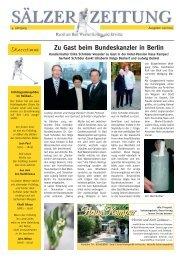 Zu Gast beim Bundeskanzler in Berlin - Bad Westernkotten