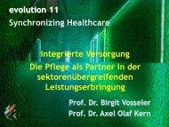 Pflege auf dem Weg in die integrierte Versorgung