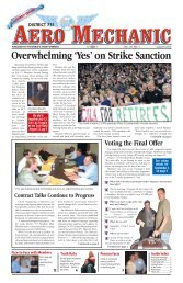 Overwhelming 'Yes' on Strike Sanction - IAM District 751