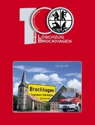 Löschzug Brockhagen - Freiwillige Feuerwehr Steinhagen