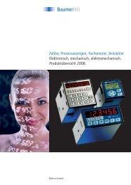 Summenzähler elektromechanisch - Baumer
