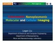 Colorimetric Nanoplasmonic Molecular and Cellular Imaging