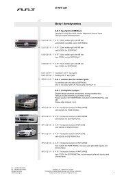Vogtland Tieferlegung Sportfedern Mercury Cougar XR-7 SC V8 89 /> 98-10582