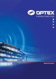 OPTEX Produktkatalog 2010 deutsch - Hi-Systems