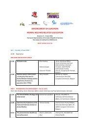 enforcement of eu aw legislation.pdf - Federation of Veterinarians of ...