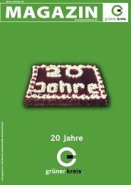 20 Jahre - Grüner Kreis