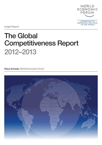 The Global Competitiveness Report 2012–2013 - World Economic Forum