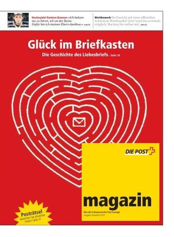 magazin» November 2012Link wird in einem neuen - Die ...