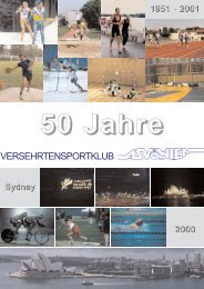 50 Jahre - Vereinsmeier