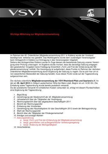 2012-3-Rundschreiben März-2 1 - VSVI Rheinland-Pfalz Saarland