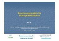 Berechnungsansätze für Außengebietsabflüsse - VSVI Rheinland ...