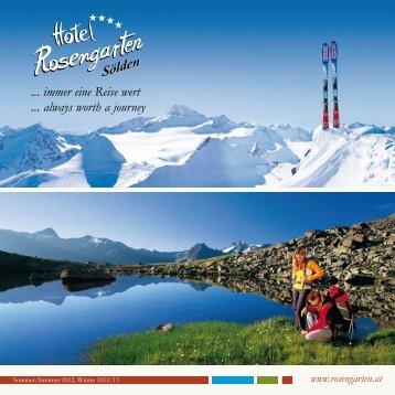 jetzt downloaden - Hotel Rosengarten