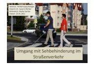 4. Tipps im Umgang mit Sehbehinderten