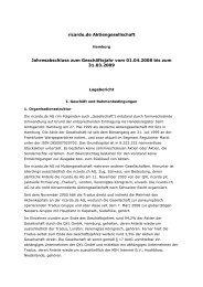 Ricardo.de AG Jahresabschluss per 31.03.2009