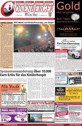 Alte Wache - Cronenberger Woche