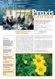Journal - Onkologische Praxis Velbert