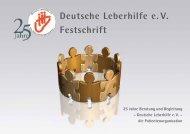 Festschrift der Deutschen Leberhilfe e.V. (4,1 MB